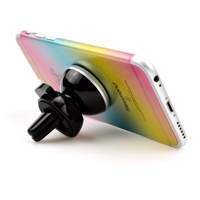 360 Degree Universal Rotating Magnetic Support Cell Phone Car Air Vent Mount Holder For iPhone 6S Car-Styling Auto Accessories