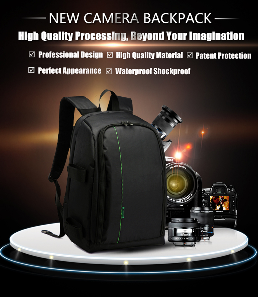 New polyester material outdoor waterproof multifunctional dslr camera backpack with big laptop - New uses for the multifunctional spray ...