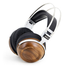 100% Original High MSUR N550 HiFi Wooden Metal Headphone Headset Earphone With Beryllium Alloy Driver With Protein Leather T60