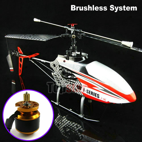 Free Shipping 2.4G 4CH RC Helicopter MJX F45 F645 with New Brushless Motor System (All assembled)(China (Mainland))