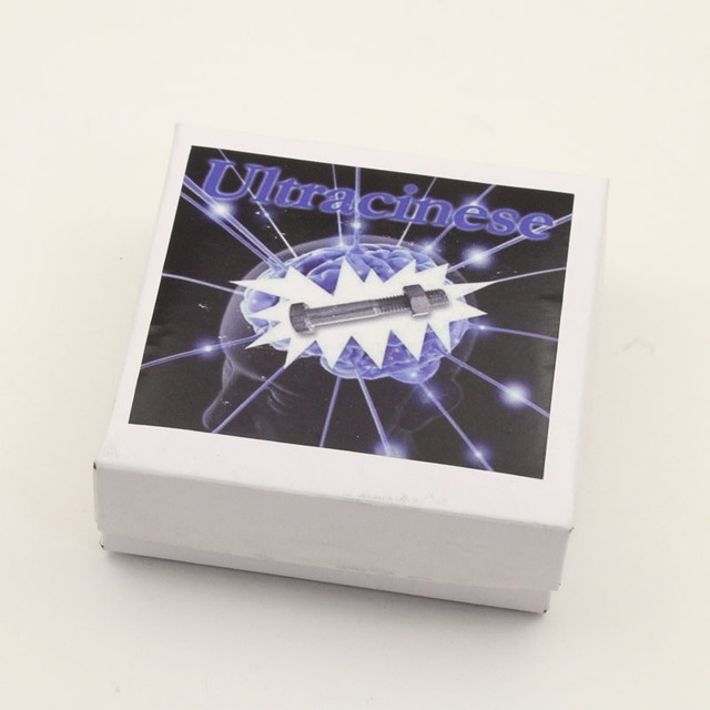 Magic Tricks for Professional Magicians Magic Screw with Telepathy Ultracinese Ring Off Magic Trick  Magic Props 2pcs/lot