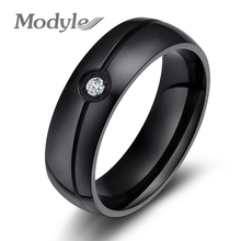 2016 New Fashion Men and Women Wedding Rings Stainless Steel Ring Jewelry Wholesale(China (Mainland))
