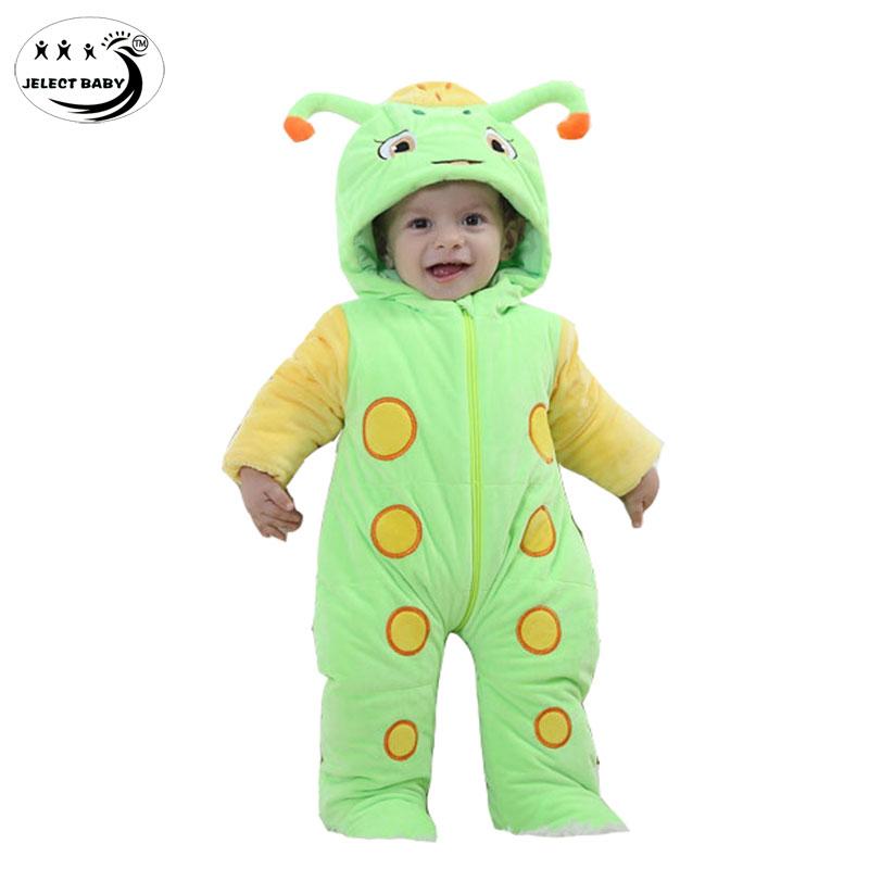 Здесь можно купить  Cartoon animal rompers Baby costume Hot Baby Boy clothes Cotton flannel jumpsuit  Girl Winter warm baby clothing  Детские товары