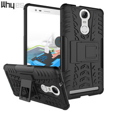Buy Lenovo K5 Note / Vibe K5 Note Pro Case Kickstand Bags ShockProof Hard Cases Silicone + PC Hybrid Dual Layer Phone Cover for $2.89 in AliExpress store