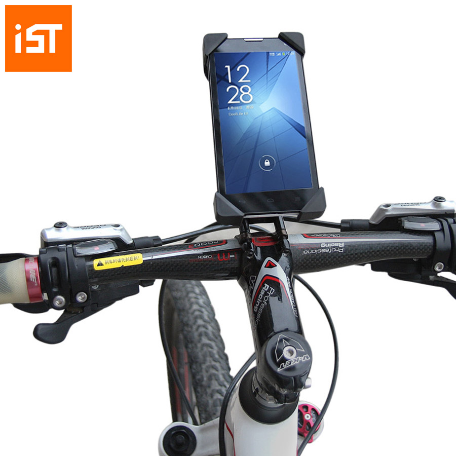Original IST Bicycle Accessories Tough Mount Bracket Bike Phone Holder Stand For iPhone 5 6 6s plus Samsung LG Cycling Support(China (Mainland))