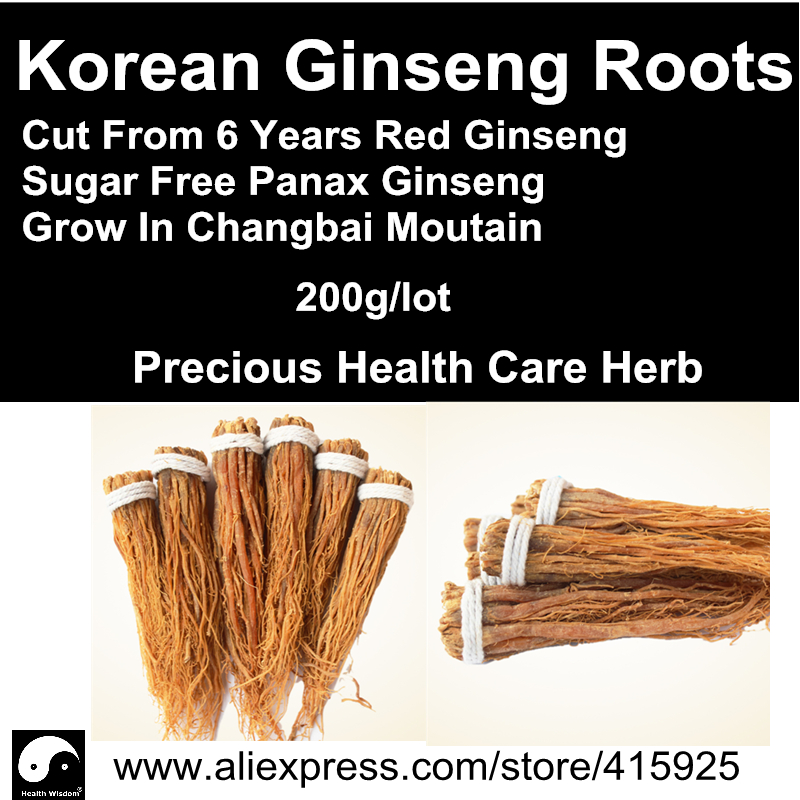 Real Dried Red Panax Ginseng Roots Hair 6 Years Korea Ginseng Root Health Herb Direct From China Changbai Moutain Ginseng Farmer<br><br>Aliexpress