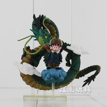 Anime Dragon Ball Z Goku games Museum Collection Shenron Son Goku Action Figure model Toy A283(China (Mainland))