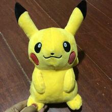Dective Pikachu Charmander Brinquedo Jigglypuff Poliwhirl de Pelúcia Gengar Filme brinquedos anime Boneca Para presentes de aniversário do bebê Do Miúdo Macio Anime(China)