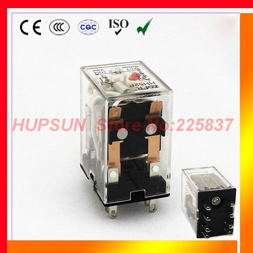 HH52P my2nj relay (5pcs/lot) 12v 24v 36v 48v 110v 220v DC/AC 5A high quality DPDT electromagnetic mini relay MY2(China (Mainland))