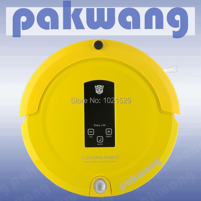 Hot sale! 4 IN 1 intelligent vacuum cleaner multifunctional robotic vacuum cleaner(China (Mainland))