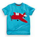 18 Months 6T Baby Boys Girls T Shirt Summer Children s Tops Clothing Cute Cartoon Airplane