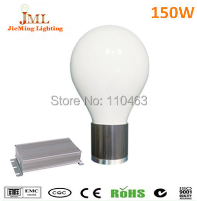 free shipping150W 10500lm Olive shape flat base separated bulb high frequency induction lamps used in street highbay floodlight(China (Mainland))
