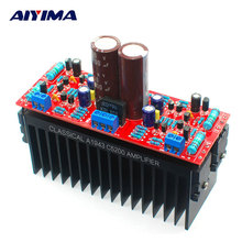 Buy AIYIMA Tube Amplifiers Audio Board DIY Kits A1943/C5200 Dual AC12-28V High Power Amplifier Board Stereo HIFI Tube Fever Level for $23.64 in AliExpress store