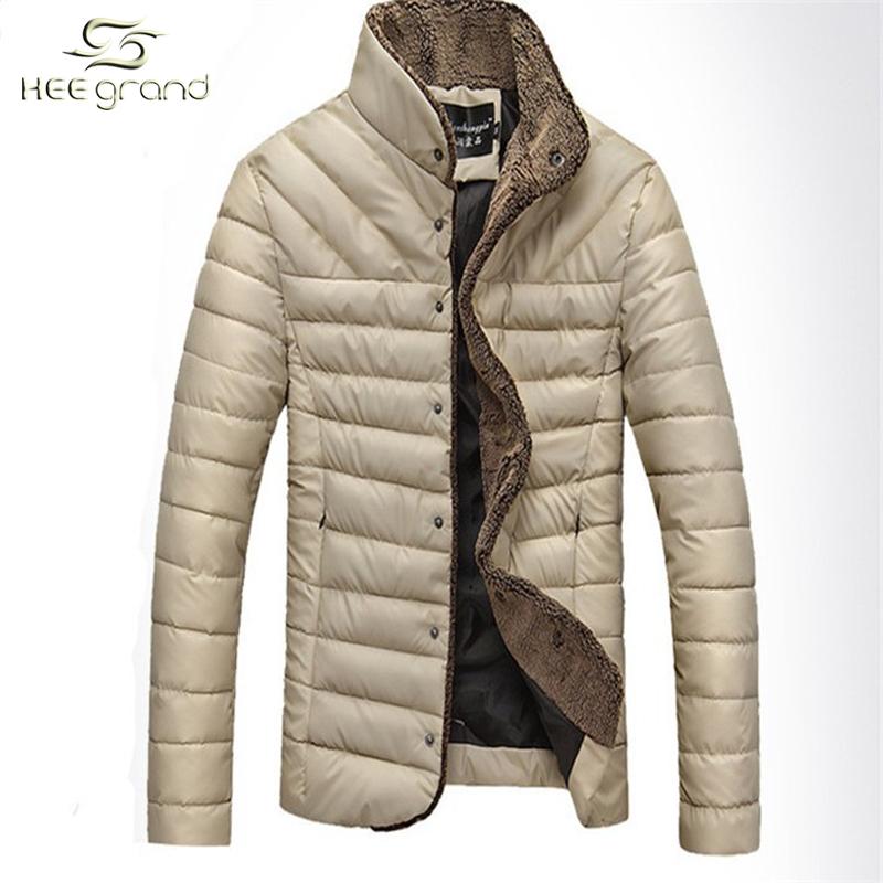 Hot Sale Man Winter Jacket 2015 Men Warm Jacket Stand Collar Fashion Coat Solid Jaqueta MWM432