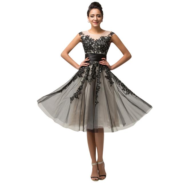 Грейс карин со средний-икры Cap рукавом вечернее платье ну вечеринку платье мать ...