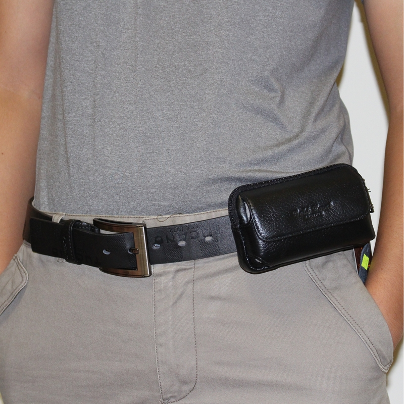 waist bag mini tactical pouch purse belt genuine