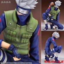 Nuevo 20 cm PVC japanese anime figuras Naruto muñecas en cuclillas Kakashi Hatake Naruto shippuden figura de acción de juguete para los niños