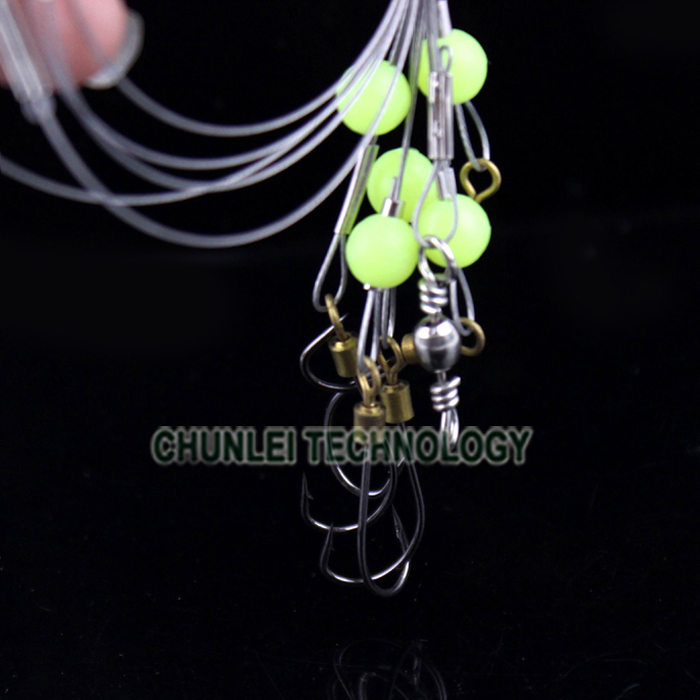 5 Size Ocean Sea With Bead Wires Pike Card Rolling Swivels Safety ...