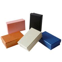 32pcs/lot 8x5CM Black Sponge Multi colors Jewelry Set Display Earrings/Ring/Pendant/Necklace Gift Box Free Shipping Wholesale(China (Mainland))