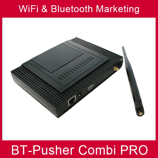proximidad bluetooth wifi proximity marketing BT-Pusher COMBI PRO(using in Advertising Light Boxes) WITH car charger,Battery(China (Mainland))