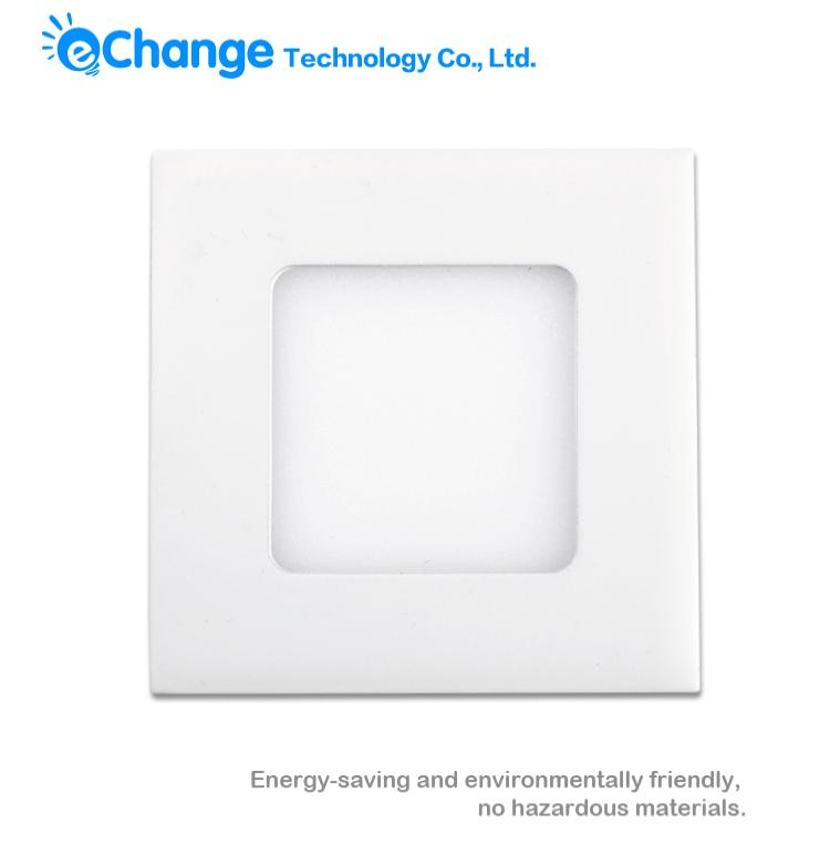 Wall Ceiling Light LED Panel 9W LED Square Downlight Plate Lamp Warm/Cool White 85-265V EB3588(China (Mainland))