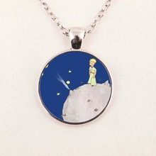 The Little Prince Pendant The Little Prince Jewelry Gifts For Children Glass Dome Necklace