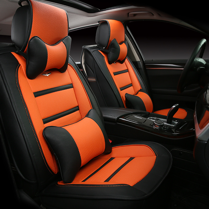 3d styling car seat cover for ford edge escape kuga fusion mondeo ecosport explorer focus fiesta. Black Bedroom Furniture Sets. Home Design Ideas