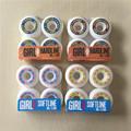 Hot GIRL LEAN Skateboard Wheels 98A SOFTLINE 101A SOFTLINE PU Skate Wheels 50 51 52 53mm