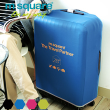 M Square Travel Accessories Luggage Cover Protector Elastic Trolley Suitcase Cover Protective Covers Suitcase Case 20 24 28 Inch(China (Mainland))