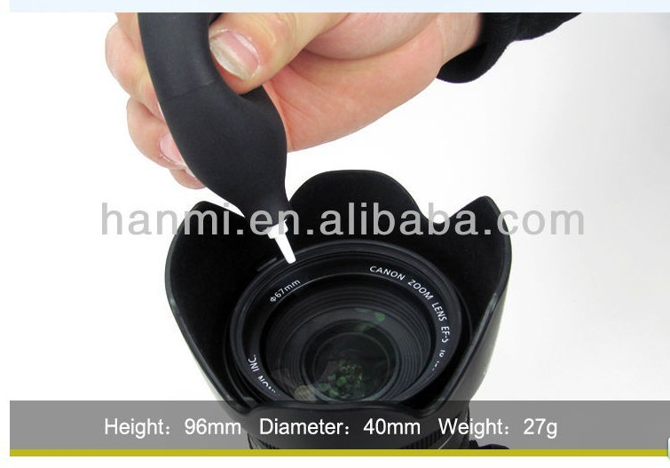 2pcs Quality Soft Rubber Dust Blower Pump Ball Ballon for Camera lens filter Cleaning Computer Keyboard Screen(China (Mainland))