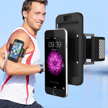 Adjustable Sports Arm Band Cover Case For iPhone 5 5S SE 6 6S 6 S Plus 6Plus 6S Plus Arm Bag Gym Running Mobile Phone Belt Case