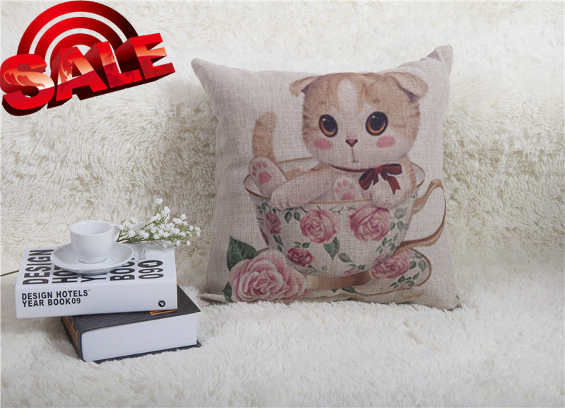 desk bench available FOR CHILDREN OWL DOGS 2015 100% SILK COTTON CUSHIONS tatami shape pastoral japan style blending CUSHION(China (Mainland))