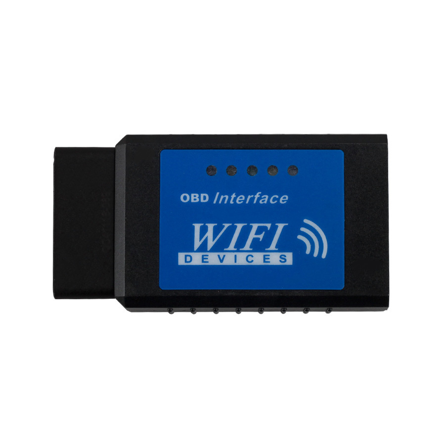 Best Quality OBD 2 Diagnostic Tool ELM327 OBDII WiFi Diagnostic Wireless Scanner for Apple i Phone Touch SC133-B(China (Mainland))