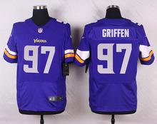 SALE Elite men Minnesota Vikings Everson Griffen Cordarrelle Patterson Kyle Rudolph Anthony Barr Adrian Peterson E-5(China (Mainland))
