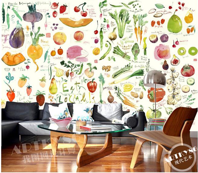 Compra paredes del restaurante de cocina online al por - Papel de vinilo para cocinas ...