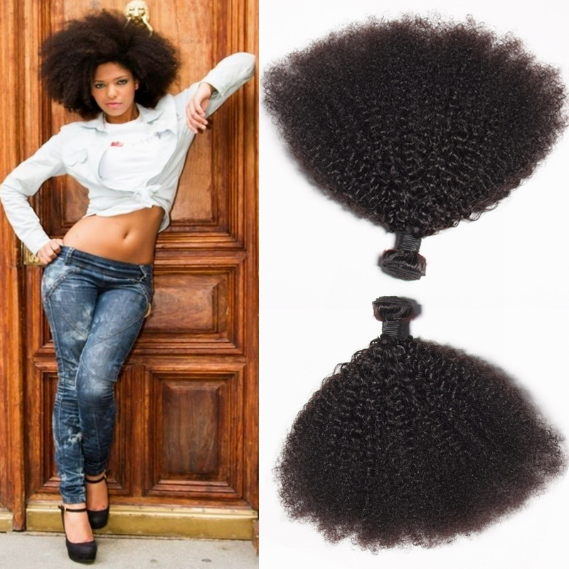 Cheap Brazilian Hair 4 Bundles Kinky Curly 7A Grade Brazilian Kinky Curly Virgin Hair Curly Weave Human Hair Brazilian Remy Hair