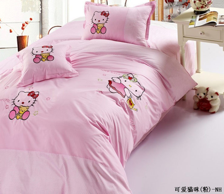 Bedding cotton 100% cotton child cartoon series piece set hot-selling bedding(China (Mainland))