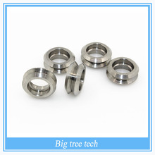 5pcs 3d printer Reprap CNC Linear motion parts Openbuilds stainless steel Metal Dual V Wheel without the bearing