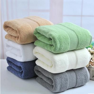 Buy 650g Solid Heavy 100 Organic Cotton Bath Towel 70x140cm