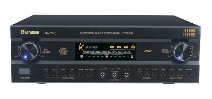 Original imported professional KTV Twin Reverb amplifier DA-7300hifi2.0 Sri element card pack star edition(China (Mainland))