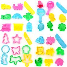 Arpa Play Dough Playdough Polymer Clay Plasticine Mold Tools Set Kit,  36pcs(China (Mainland))