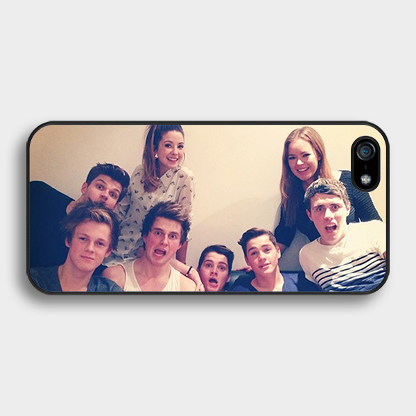 British YouTubers phone case for Samsung Galaxy s2 s3 s4 s5 mini s6 s7 edge Note 2 3 4 5 iPhone 4s 5s 5c 6 plus iPod touch 4 5 6(China (Mainland))