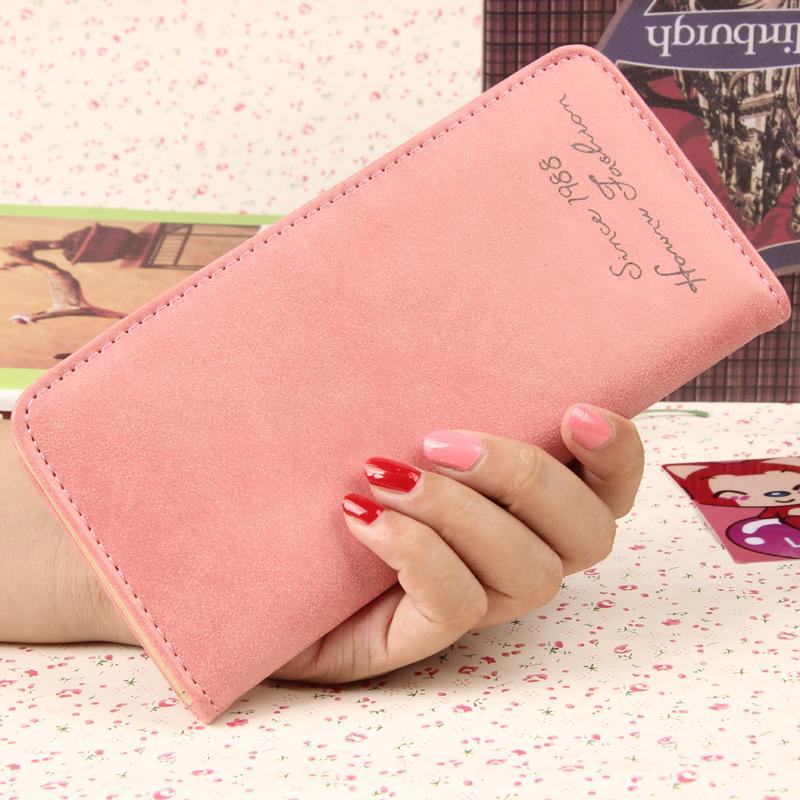 Fashion long wallet lady wallet(China (Mainland))