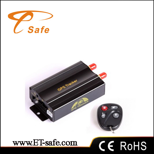 Vehicle car gps tracker with remote control Coban GPS103B TK103B car tracker(China (Mainland))