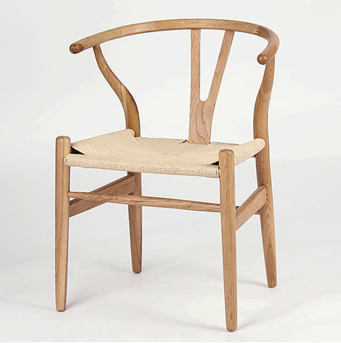 Furniture Solid Wood Dining Chair Office Chair Ancient Y Chair