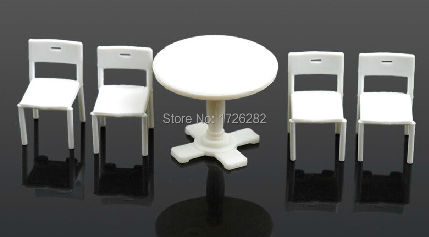 Architectural model furniture scale furniture table set Scale model furniture