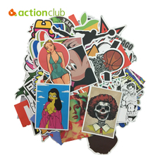 New 2016 Decorative Stickers High Quality Water-proof Home & Car Stickers Kids DIY Toys Car Suitcase Decor Sticker Easy To Move(China (Mainland))