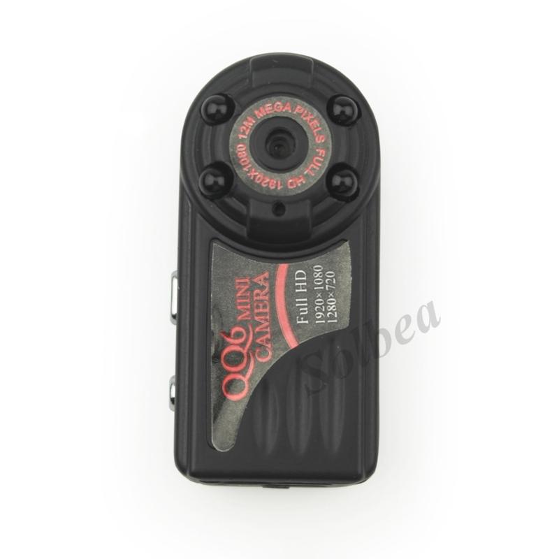 10pc Smallest QQ6 Full HD 1080P Mini DV DVR 12.0 MP Wide Angle Camera IR Night Vision Montion Dection Mini DV freeshipping+track(China (Mainland))