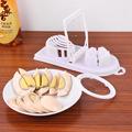 Useful 2in1 Cut Multifunction Kitchen Egg Slicer Sectioner Cutter Mold Flower Edges Egg Tools Random Color