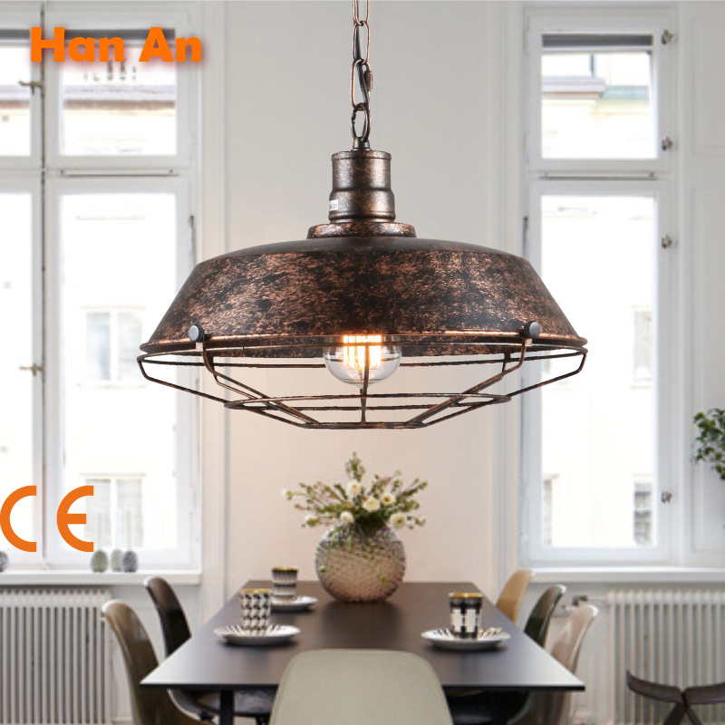 Creative Contracted Wrought Iron Chandelier Wholesale Led Droplight Industrial Chandeliers Restoring Ancient Ways Lighting(China (Mainland))